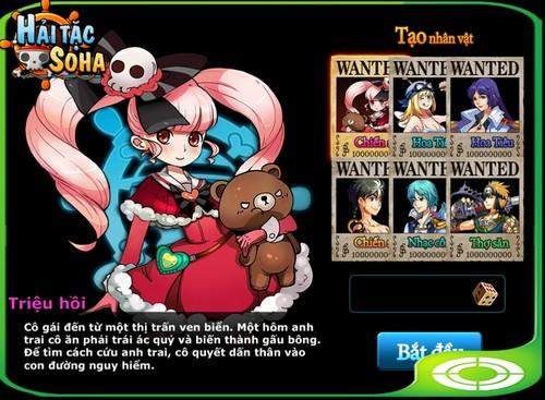 SohaGame phát hành Vua Hải Tặc phiên bản Mobile - Hình 2