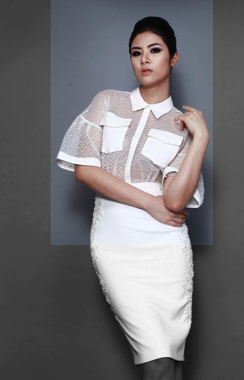 Thiết kế đa sắc đổ bộ tuần thời trang thu đông - Hình 1
