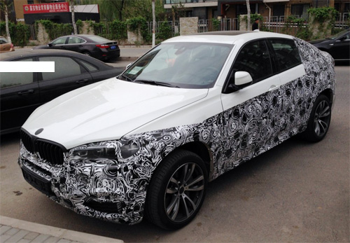 Lộ diện BMW X6 2015 trên đường thử - Hình 1
