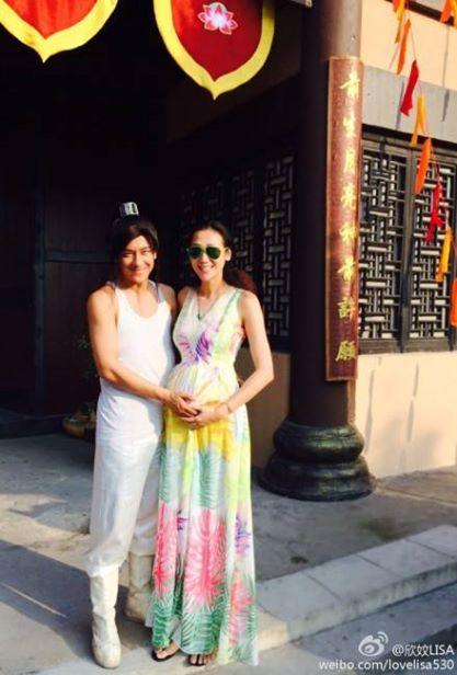 Vợ Trần Hạo Dân khệ nệ ôm bụng bầu đến thăm chồng - Hình 1