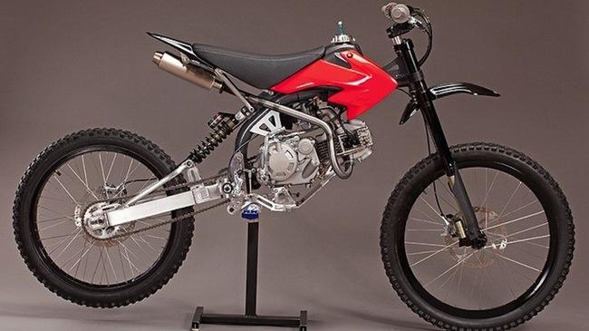 Motoped - Xe đạp trang bị động cơ off-road giá rẻ - Hình 1