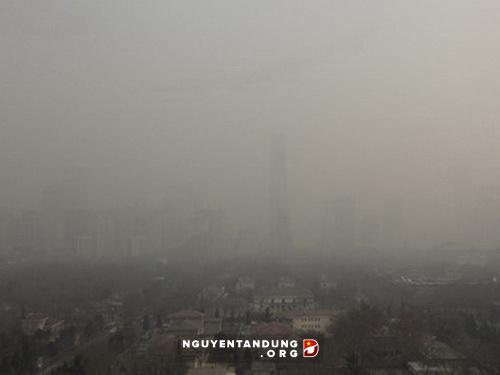 Trung Quốc thừa nhận &'bó tay' trước nạn ô nhiễm không khí - Hình 1