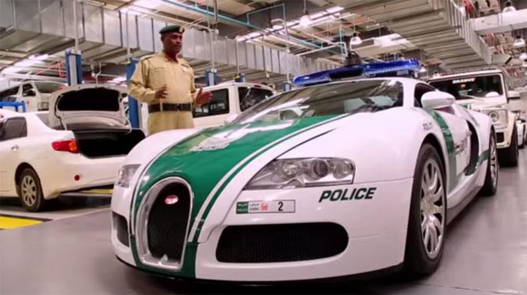 Đột nhập hầm chứa dàn siêu xe cảnh sát khủng nhất thế giới - Hình 1