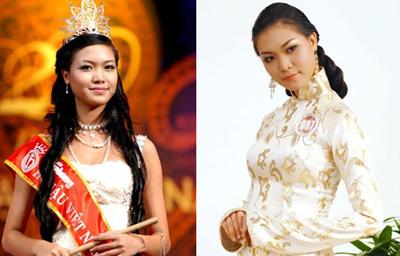 3 hoa hậu Việt từ đen nhẻm sang trắng nõn - Hình 10