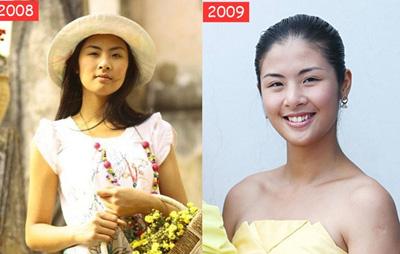 3 hoa hậu Việt từ đen nhẻm sang trắng nõn - Hình 2