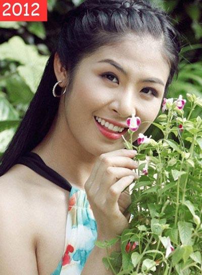 3 hoa hậu Việt từ đen nhẻm sang trắng nõn - Hình 4