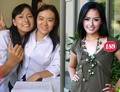 3 hoa hậu Việt từ đen nhẻm sang trắng nõn - Hình 7