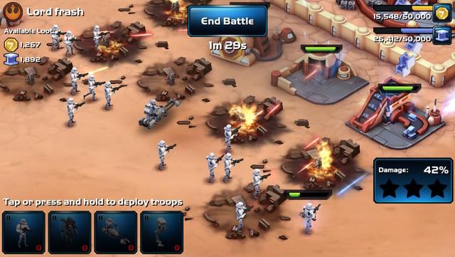 Star Wars: Commander Bản sao hoàn hảo của Clash of Clans - Game offline