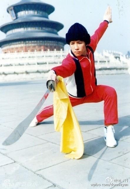 Ảnh Chân Tử Đan ngố tàu, tập võ như múa xiếc năm 17 tuổi - Hình 1