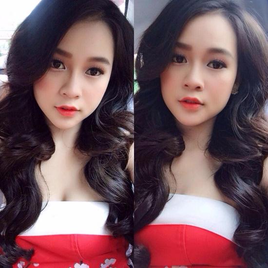Các kiểu make-up ngọt ngào của hot girl Việt - Hình 2