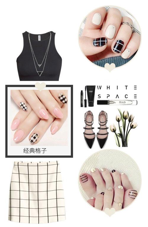Chọn mẫu nail hợp với trang phục của bạn - Hình 1