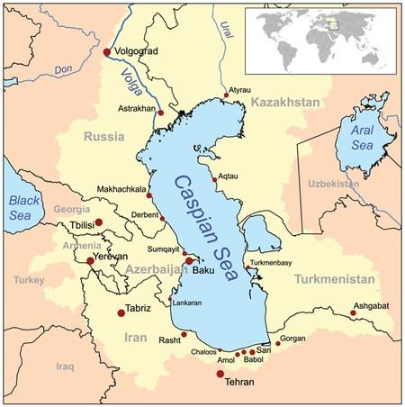 Tại sao Nga lại sử dụng Hạm đội Caspian để tấn công IS? - Hình 1