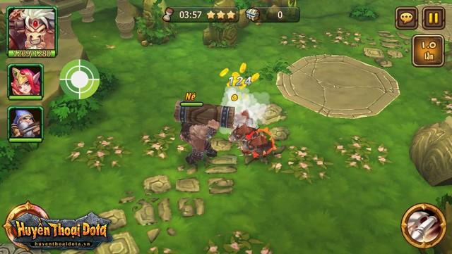 Điểm sáng đồ họa 3D khiến game thủ thích mê trong Huyền Thoại DotA - Hình 1