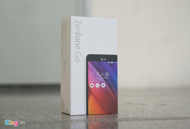 Mở hộp Zenfone Go RAM 2 GB giá 3 triệu đồng - Hình 1