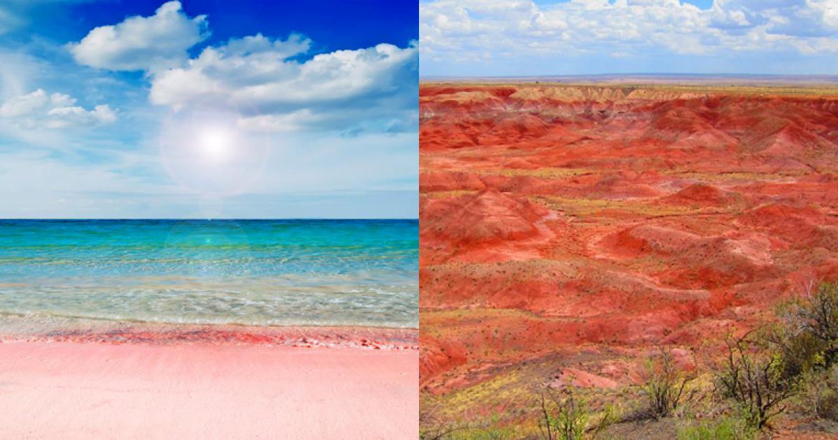 10 kỳ quan sắc màu huyền bí hoàn toàn có thật