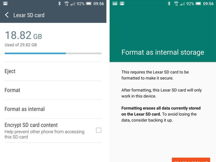 Kích hoạt tính năng Flex Storage trên Android 6 0 - Thế giới số