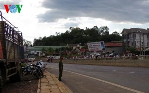 Tai nạn kinh hoàng tại Bình Phước: 3 người chết, 4 người trọng thương - Hình 1