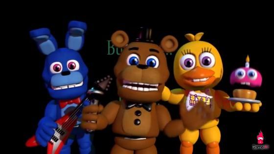 Five Nights at Freddy's công bố những hình ảnh game đầy bắt mắt - Hình 1