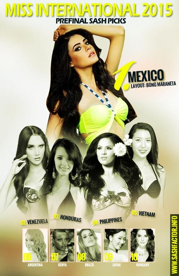 Hoa hậu Quốc tế 2015: Thúy Vân được bình chọn làm Á hậu - Hình 1
