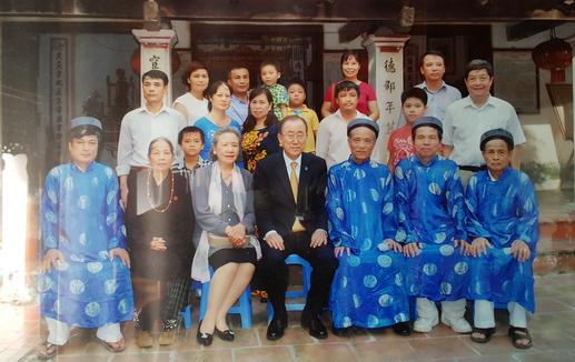 Thực hư chuyện ông Ban-Ki-Moon mang dòng dõi Việt - Hình 1