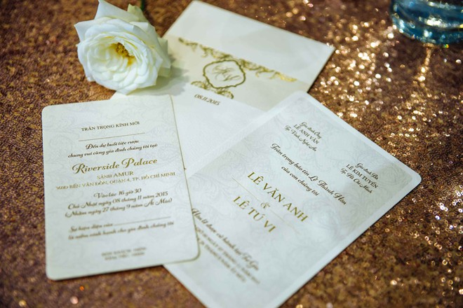 Tú Vi sẽ diện đầm đính 2.000 viên pha lê trong tiệc cưới - Hình 1