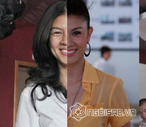 Khuôn mặt vịt bầu - thiên nga của sao Việt trước và sau trang điểm - Hình 2