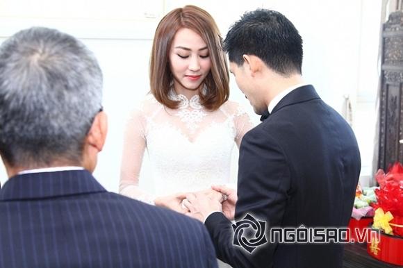 Ngân Khánh mất nửa năm để đặt váy cưới ở nước ngoài - Hình 1