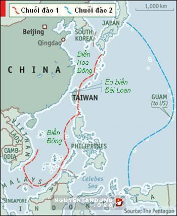 Trung Quốc âm mưu lập &'chuỗi phòng thủ bán nguyệt' trên Thái Bình Dương - Hình 3