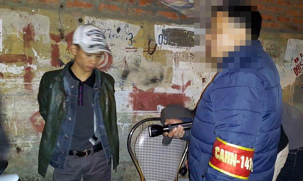 Hà Nội: Vừa đi tù về lại bị 141 bắt vì tàng trữ ma túy - Hình 1