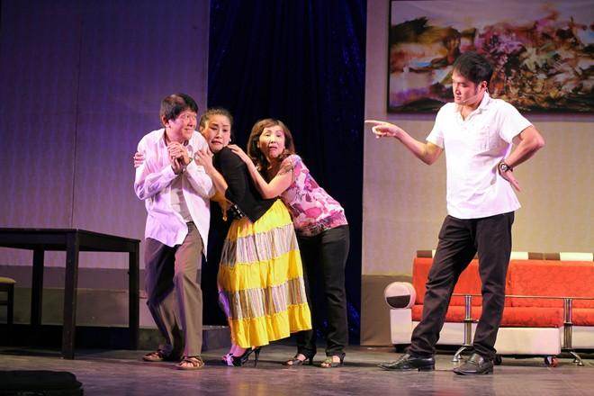 Kiều Oanh tích cực tập luyện cho liveshow hài Tết - Hình 1