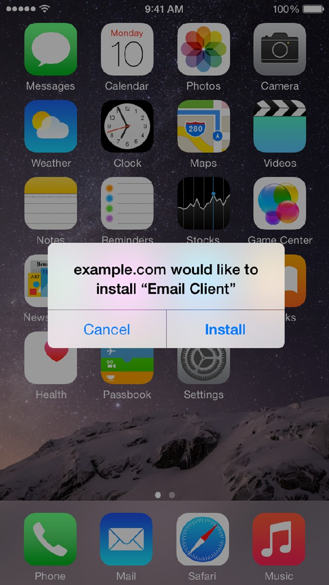 Mã độc mới trên iPhone tự cài phần mềm ăn cắp danh bạ, ảnh - Hình 1