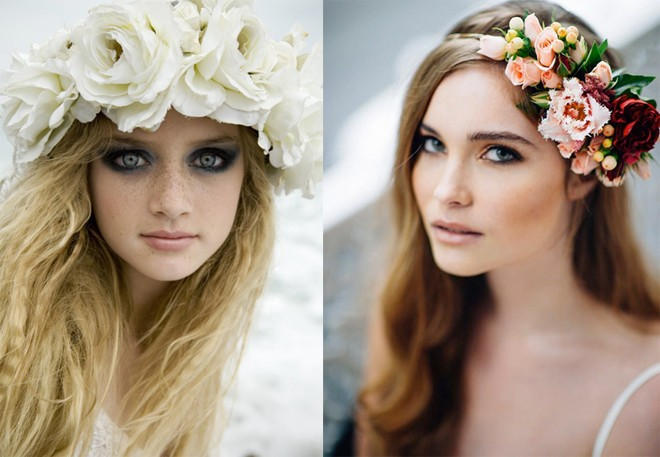 6 kiểu tóc buông dài giúp cô dâu thêm quyến rũ - Hình 18