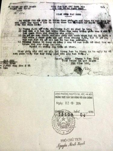 Bài 4: Thanh tra quận Hai Bà Trưng vào cuộc vụ dân khiếu nại bị quận ngăn cấp sổ đỏ - Hình 1