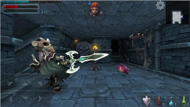 Dungeon Hero RPG - Đã tay với game nhập vai góc nhìn thứ nhất - Hình 1