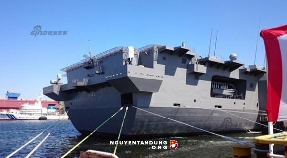 Khu trục hạm lớn nhất của Nhật Bản trước giờ nhập ngũ - Hình 1