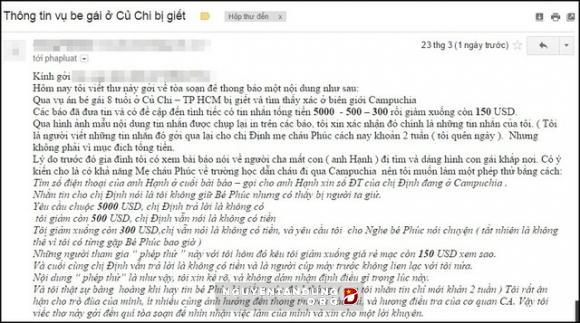 Người tống tiền sốc khi biết tin cháu bé tử vong ở Campuchia - Hình 4