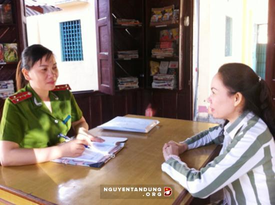 Nữ quản giáo tận tâm với công tác &'ươm mầm' hướng thiện - Hình 1