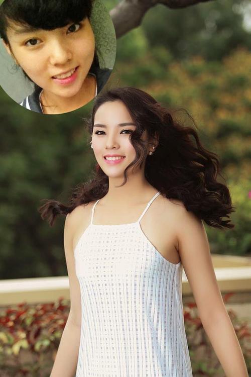 Make up che khuyết điểm mắt khéo như Hoa hậu - Hình 1