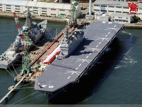 Nhật Bản có thể biến Izumo thành tàu sân bay thực thụ để đối phó Trung Quốc - Hình 1