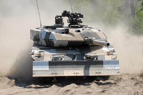 Đức mua lại 100 xe tăng Leopard-2 - Hình 1