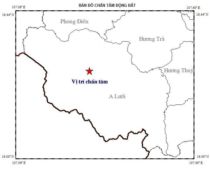 Huế: 2 ngày 3 trận động đất - Hình 1