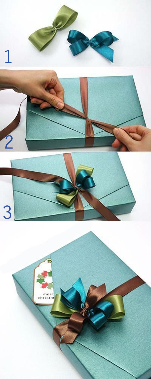 Chỉ bạn 3 cách buộc dây ruy-băng cơ bản cho hộp vừa xinh