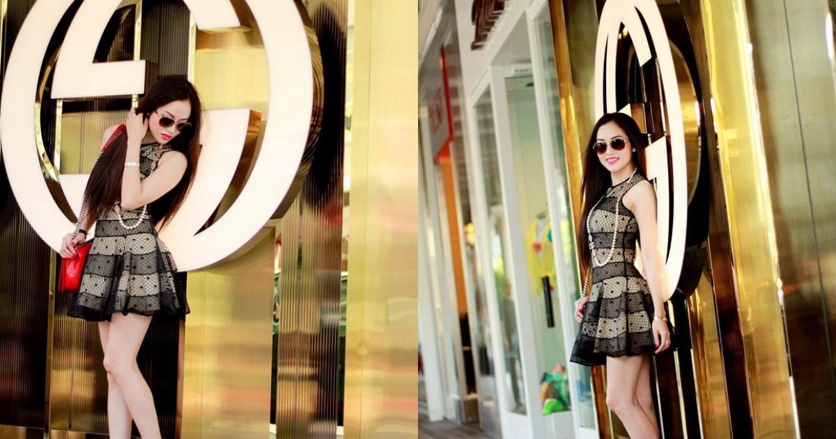 Jennifer Huỳnh tái xuất rạng ngời trên phố sau đăng quang