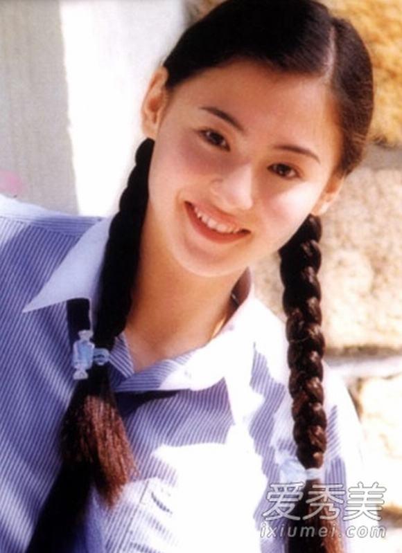 Loạt ảnh tuổi 18 đẹp thuần khiết của top 10 sao Hoa ngữ - Hình 2