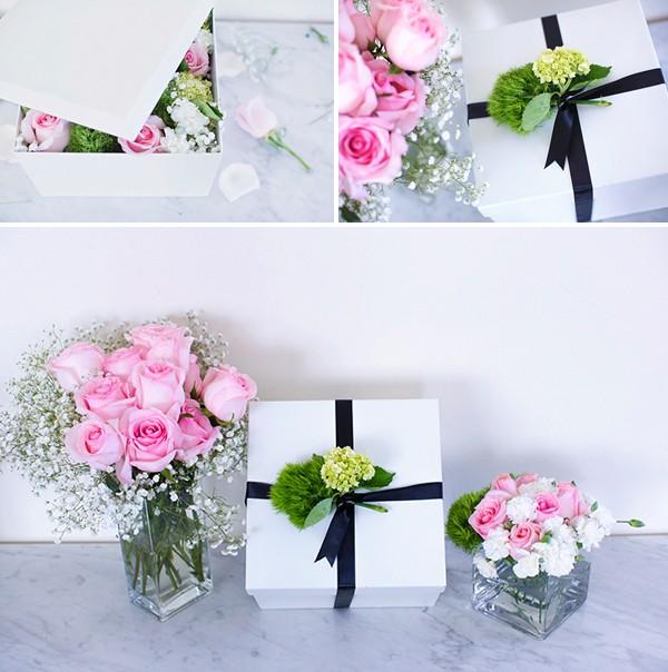Cách làm hộp quà hoa độc đáo nhân ngày của Mẹ! - Hình 9
