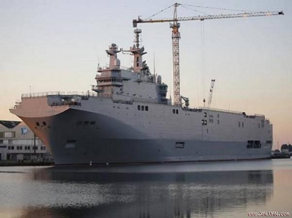 Pháp chào bán tàu đổ bộ lớp Mistral cho Trung Quốc? - Hình 1