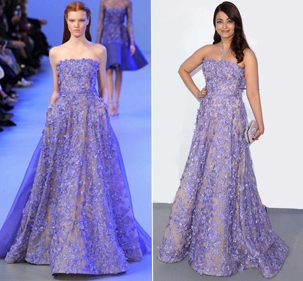 10 bộ đầm quý phái của Hoa hậu Aishwarya Rai - Hình 1