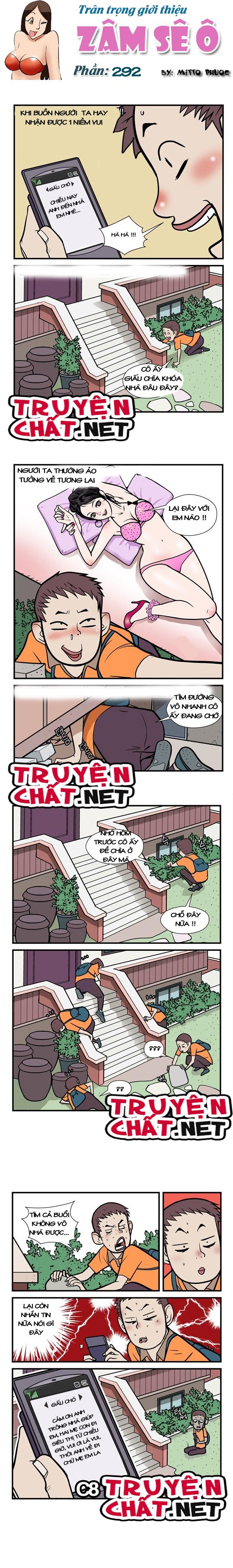 Truyện Bựa Zâm Sê Ô Chapter 292 - Hình 1