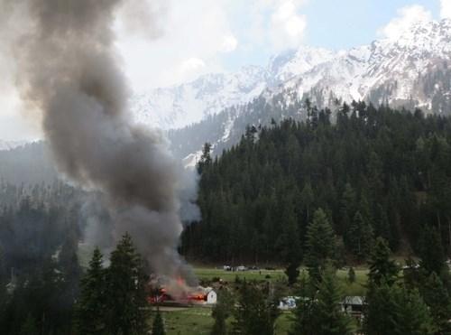 Không quân Pakistan: Vụ rơi trực thăng là do lỗi kỹ thuật - Hình 1