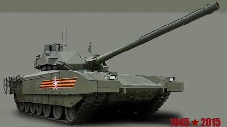 Nga: Không đạn pháo nào xuyên thủng được siêu tăng Armata - Hình 1
